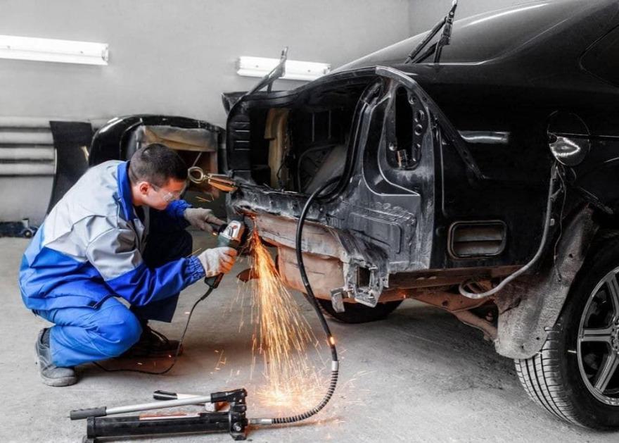 фото кузовной ремонт авто