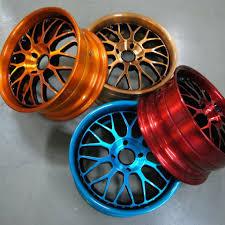 Фото окрашеных дисков авто