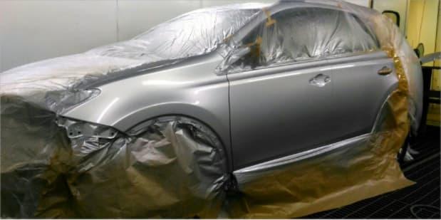 Фото авто после полной покраски