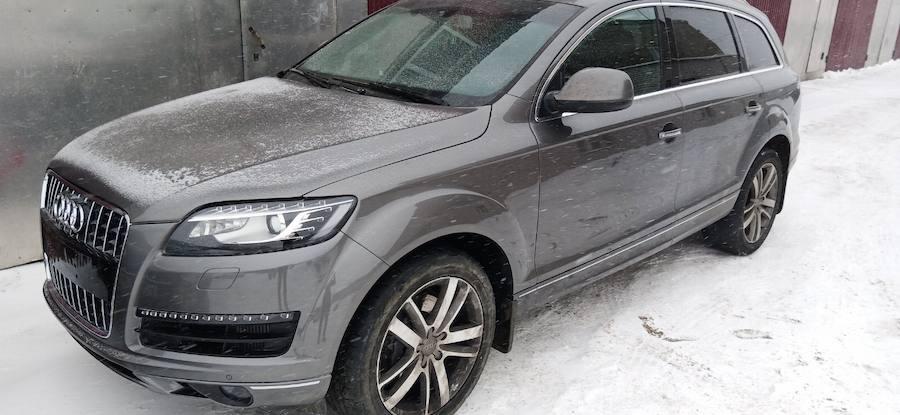 Фото Audi после комплексного кузовного ремонта