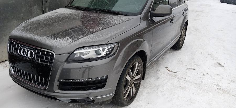 Фото после ремонта переда Audi в Твери