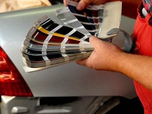 фото выбор краски для авто