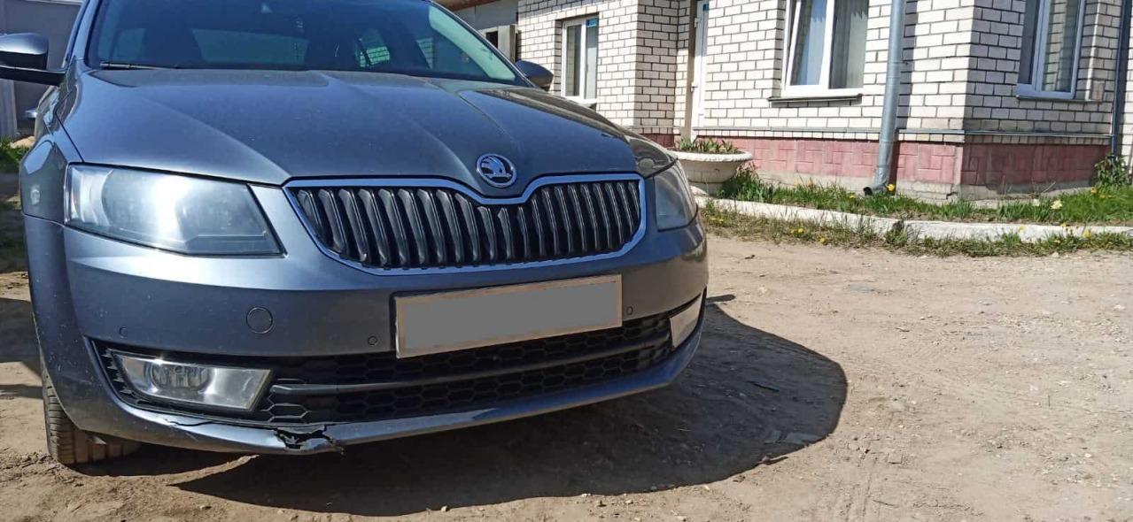 Фото ремонта бампера автмобиля